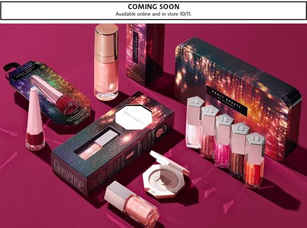 Sephora Canada Fenty Beauty by Rihanna Tinsel Show 2019 Holiday Christmas Collection Makeup Beauty Coming Soon Sneak Peek - Glossense