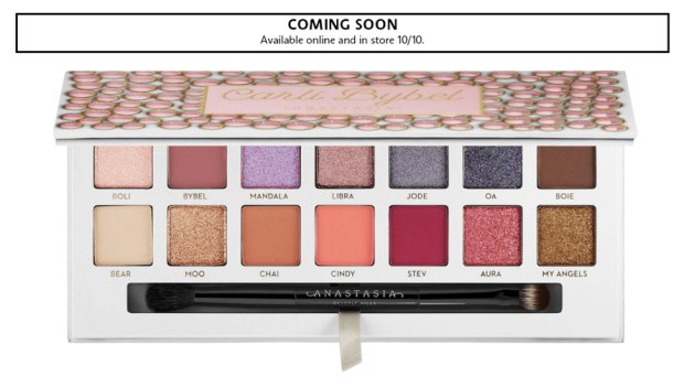 Sephora Canada Makeup ABH Anastasia Beverly Hills Carli Bybel Eyeshadow Palette Canadian New Arrival New Release Launches October 10 2019 - Glossense