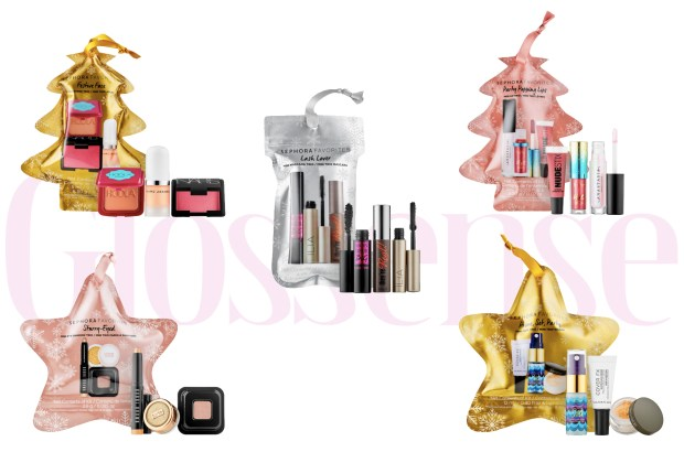 Sephora Canada New Favorites Sets Festive Face Lash Lover Prime and Set Party Popping Lip Ornaments 2019 Canadian Christmas Holiday Stocking Stuffers Gift Ideas - Glossense