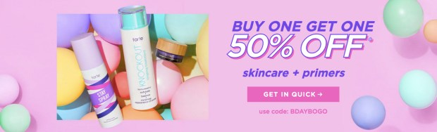 Tarte Cosmetics Canada Birthday Week Fall Sale 2019 HOT Canadian Deals Coupon Code Promo Codes October 2019 Day 5 - Glossense
