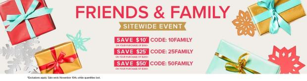 Well Canada Welldotca Friends and Family Sitewide Sale Event Save Money Off your Order Fall 2019 Canadian Holiday Deals Promo Codes - Glossense