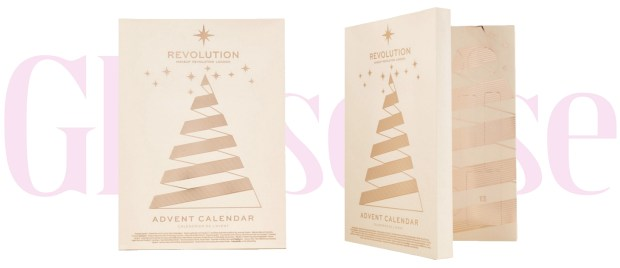 Winners Canada 2019 2020 Finds Makeup Revolution 2018 Canadian Christmas Holiday Beauty Advent Calendar - Glossense