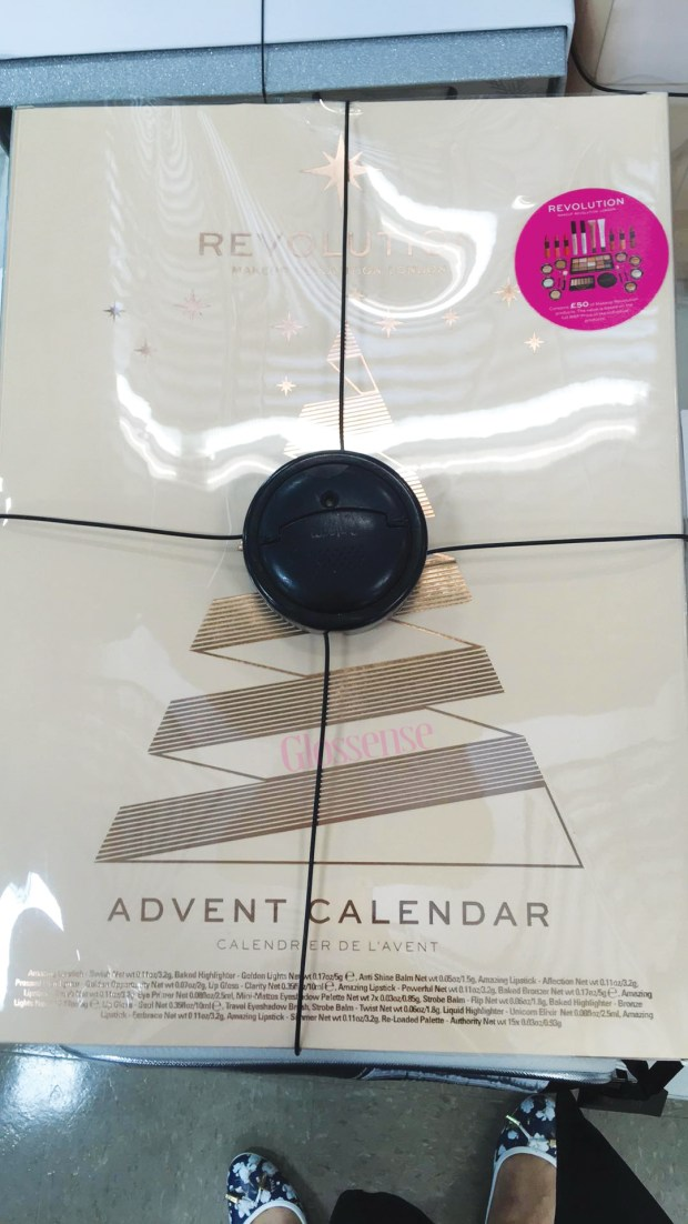 Winners Canada 2019 2020 Finds Makeup Revolution 2018 Canadian Christmas Holiday Beauty Advent Calendar In Store - Glossense