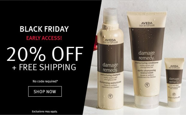 Aveda Canada 2019 Black Friday Canadian Deals Sale Discount - Glossense