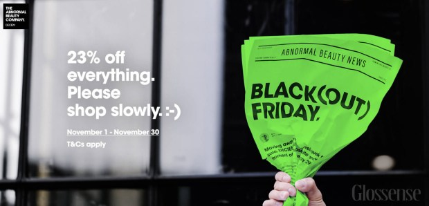 Deciem Canada Blackout Black Out Friday November Sale Save 23 2019 Canadian Black Friday Deals Discount - Glossense