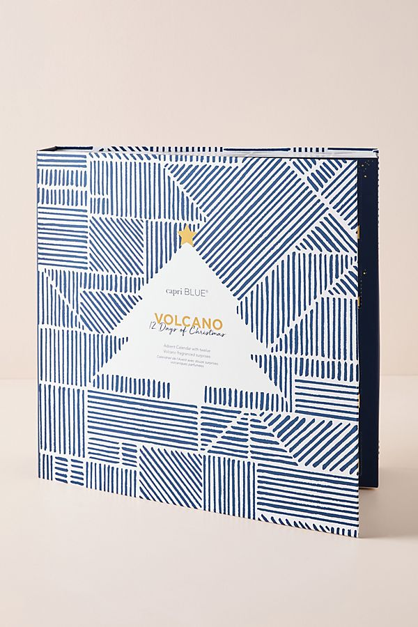 Hudson's Bay Canada Anthropologie 12-Days of Volcano Advent Calendar Gift Set 2019 Christmas Holiday Holidays Canadian Advent Calendar - Glossense