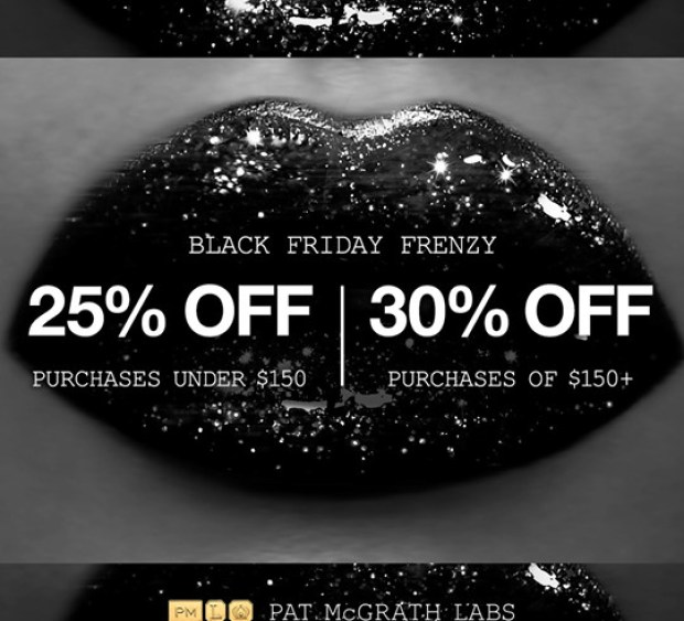 Pat McGrath Labs Canada 2019 Black Friday Frenzy Save 25 30 Off NOW Canadian Deals Sale - Glossense