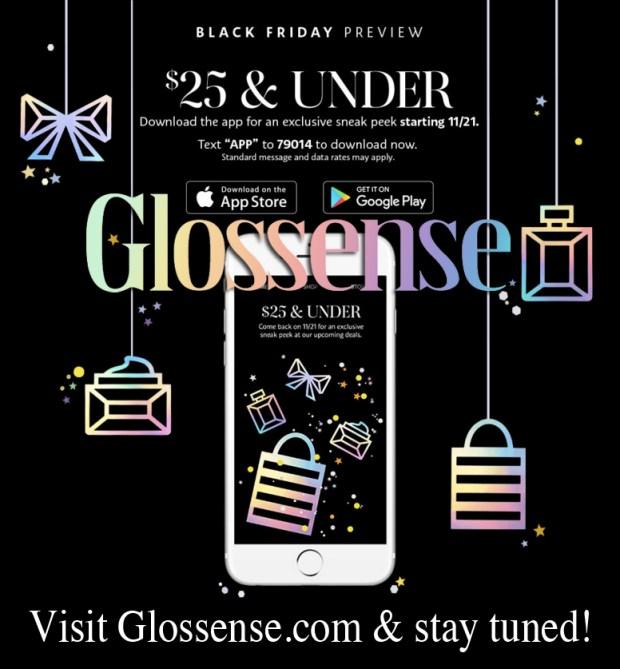 Sephora Canada 2019 Black Friday Deals Canadian Deals Preview Sneak Peek App Exclusive Sale Sales Deal - Glossense