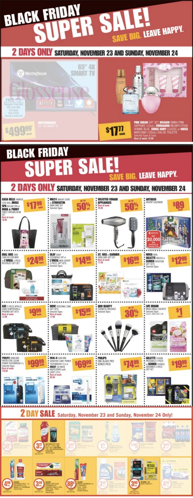 Shoppers Drug Mart Canada SDM Beauty Boutique 2019 Black Friday 2-Day Super Sale & Weekly Beauty Flyer Deals 2020 Savings - Glossense
