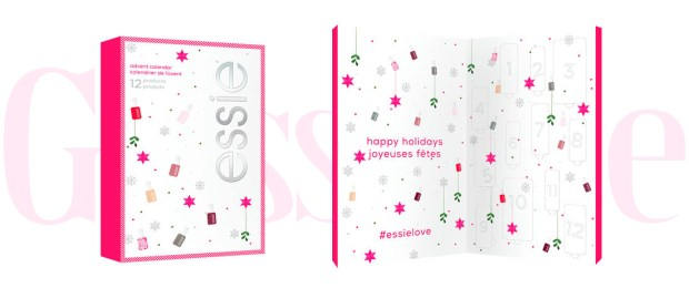 Shoppers Drug Mart Canada SDM Beauty Boutique Essie Canada 12 Days Nail Polish 2019 2020 Canadian Holiday Christmas Beauty Advent Calendar - Glossense
