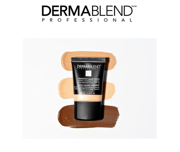 Topbox Canada Beauty Freebies Free Dermablend Smooth Liquid Camo Foundation Canadian Sample - Glossense