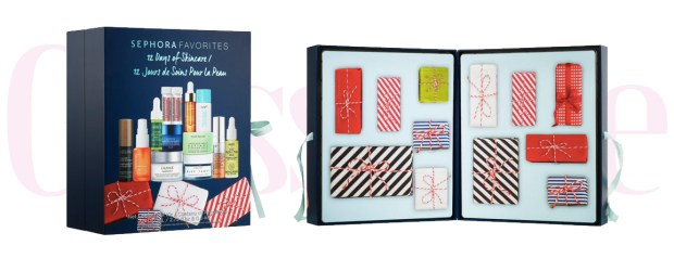 Sephora Canada Favorites Set 12 Days of Skincare 2019 Canadian Christmas Holiday Beauty Advent Calendar - Glossense
