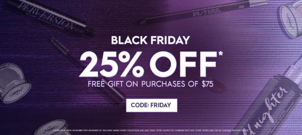 Urban Decay Canada 2019 Black Friday Canadian Sale Deals Coupon Code Free Gift - Glossense