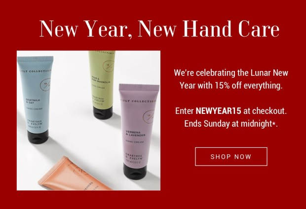Crabtree and Evelyn 2020 Lunar New Year Sale Save 15 Off Chinese New Year Canadian Deals - Glossense
