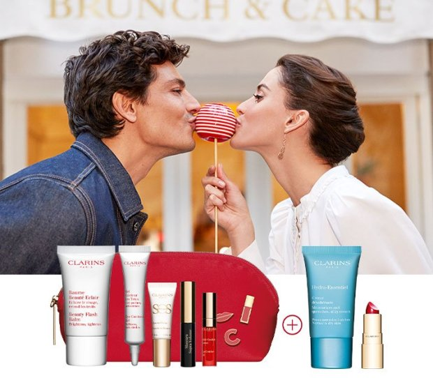Clarins Canada Free Valentine's Day Gifts w Purchase 2020 Canadian Deals GWP Offer - Glossense