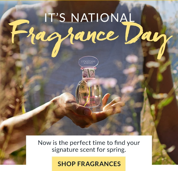 L'Occitane Canada Celebrate National Fragrance Day with Free Shipping 2020 Canadian Deals - Glossense