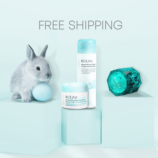 Bl'eau Canada Free Shipping with ANY Order 2020 Canadian Easter Deals - Glossense