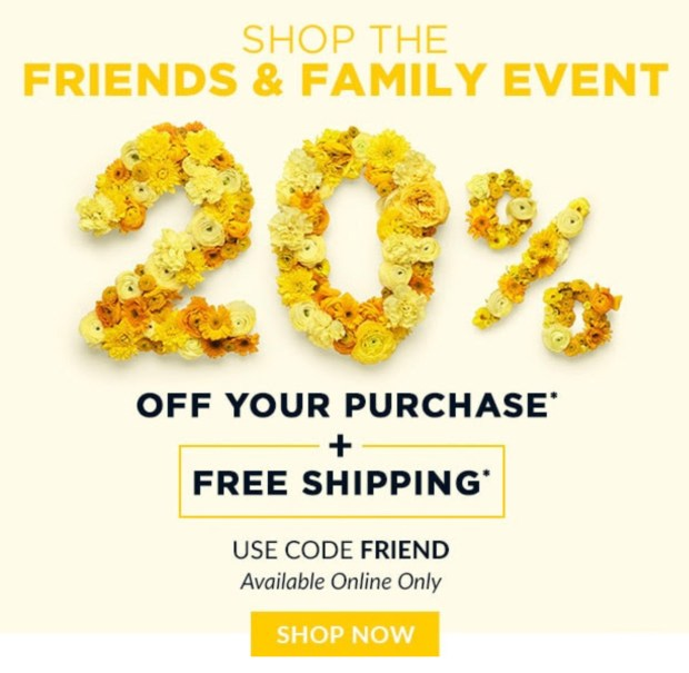 L'Occitane Canada Friends and Family Sale Event Save 20 Off Free Shipping 2020 Canadian Deals Promo Code - Glossense