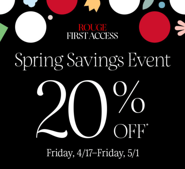 Sephora Canada Canadian Spring Bonus Sale 2020 Rouge First Access Starts Today Canadian Deals Promo Code Coupon Codes April May 2020 - Glossense - Glossense