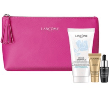 Shoppers Drug Mart Canada SDM GWP Shop Clarisonic Online Receive Free 3-pc Lancome Skincare Set Canadian Gift with Purchase Offer - Glossense