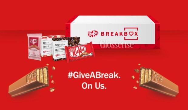 Canadian Freebies Free KitKat Breakbox Chocolate Gift Boxes Nestle Canada - Glossense