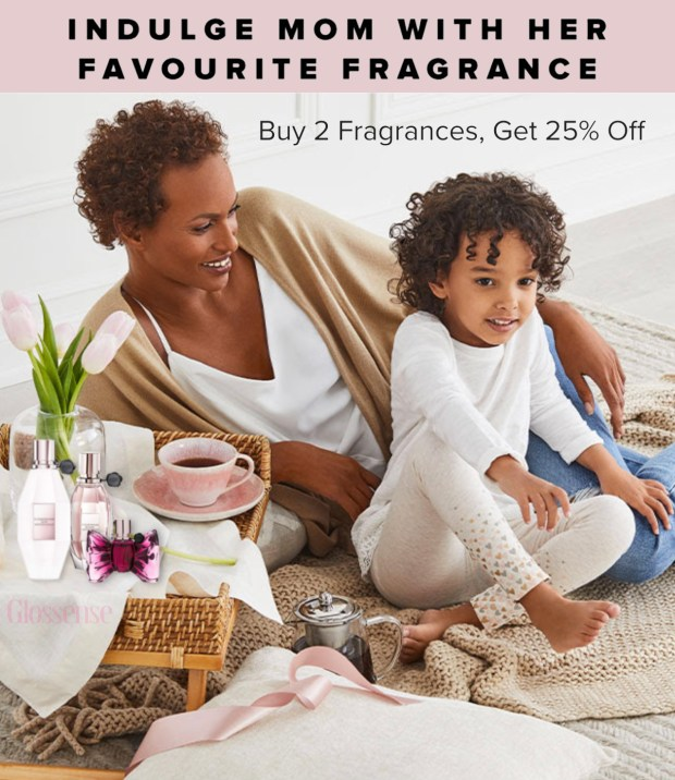 Hudson's Bay Canada Buy 2 or More Select Fragrances Save 25 Off Canadian Deals Sale - Glossense