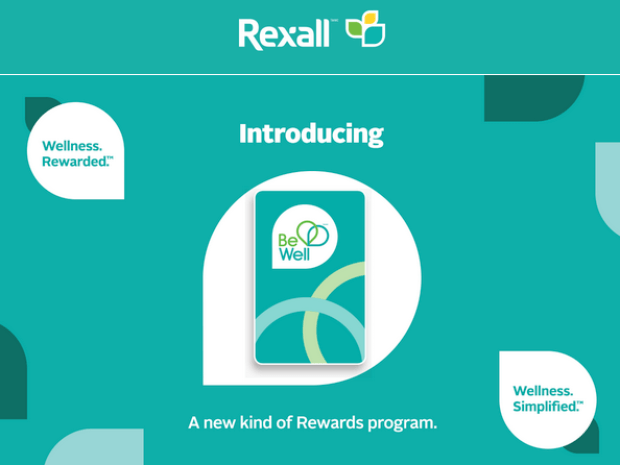 Rexall Canada Join New Be Well Rewards Program Earn Points Get Offers Save Money - Glossense