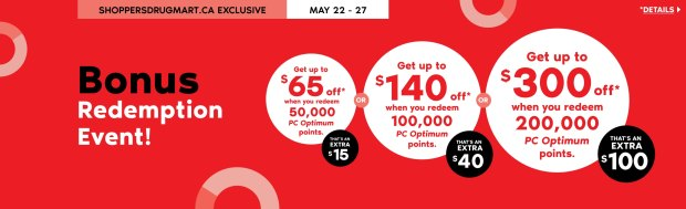 Shoppers Drug Mart Beauty Boutique SDM Canada Super Spend Your Canadian PC Optimum Points Redemption Event May 22 27 2020 - Glossense