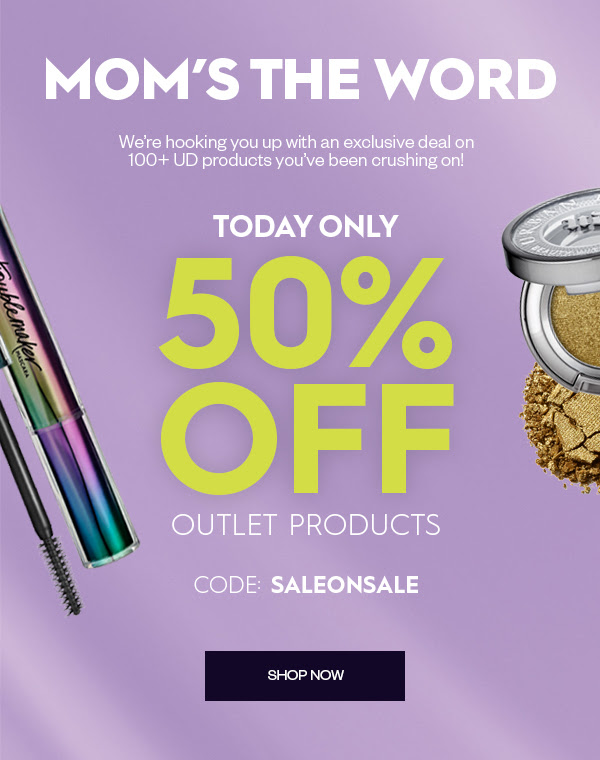 Urban Decay Cosmetics Canada 50 Off All Outlet Sale Products Mother's Day 2020 Canadian Deals Promo Code - Glossense