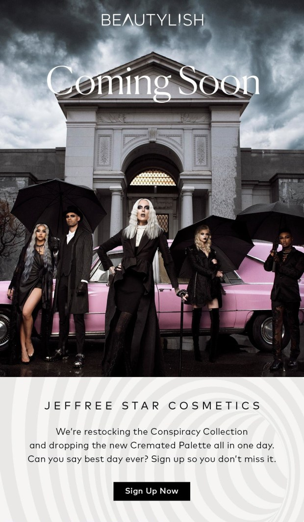 Beautylish Canada Jeffree Star Conspiracy Collection Cremated Palette Coming Soon - Glossense