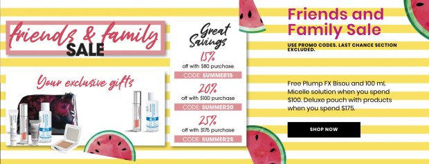 Jouviance Canada Friends Family Event Save up to 25 Off Free GWP Offers Canadian Deals Sale - Glossense