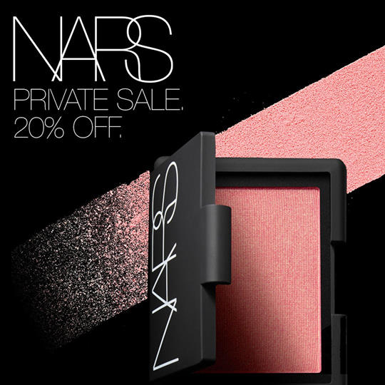 Nars Cosmetics Canada Private VIP Sale Save 20 Off Canadian Deals Promo Code - Glossense