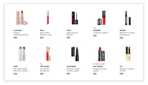 Shoppers Drug Mart Canada Shop Red Lipstick for Canada Day 2020 - Glossense