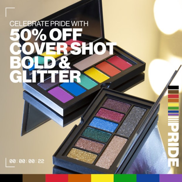 Smashbox Cosmetics Canada 50 Off Cover Shot Bold Bold Glitter Palettes Pride 2020 Canadian Deals Sale - Glossense