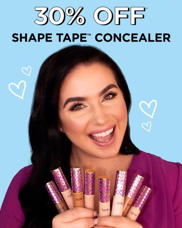 Tarte Cosmetics Canada 30 Off Shape Tape Concealer 8 Cash Back 2020 HOT Canadian Deals Sale - Glossense