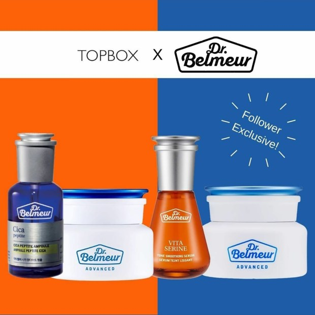 Topbox Canada Instagram Freebies Follow The Face Shop Receive 2 Free Dr Belmeur Skincare Canadian Samples freesample - Glossense.jpg