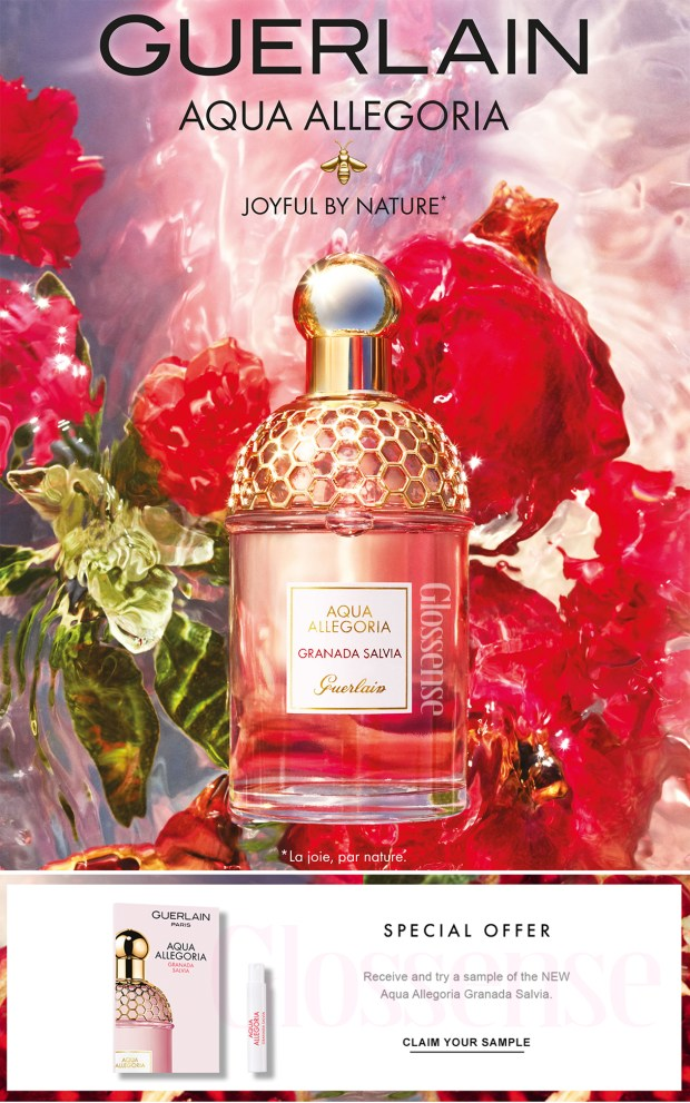 Canadian Freebies Free Guerlain Aqua Allegoria Granada Salvia Perfume Sample - Glossense