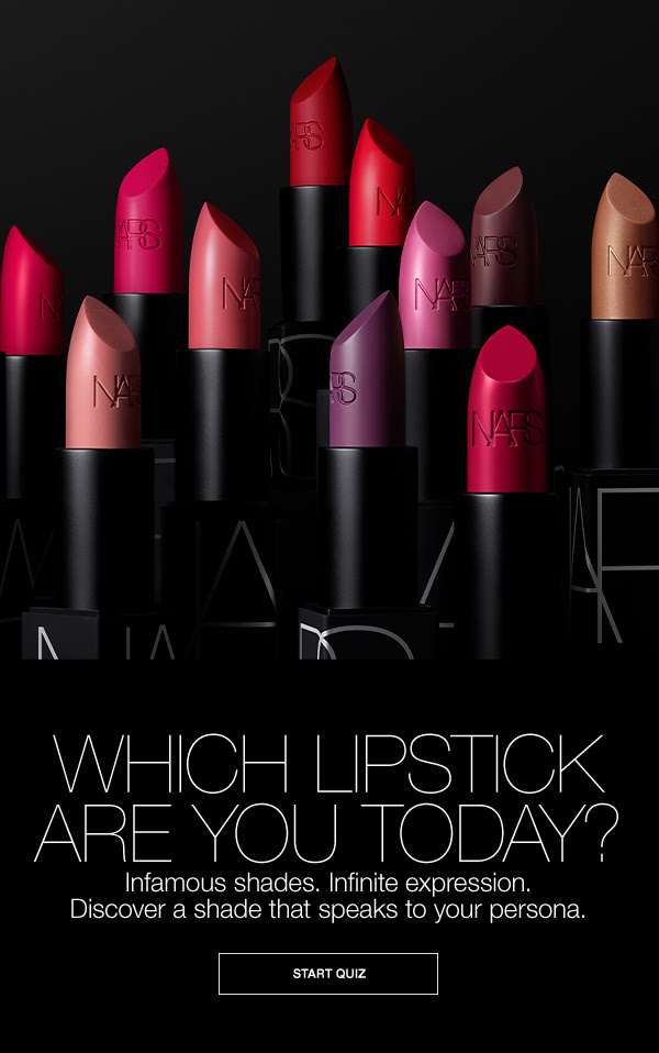 Nars Cosmetics Canada Shop Lips Get Free Mini Powermatte Lip Pigment for National Lipstick Day 2020 Canadian Deals Promo Code - Glossense