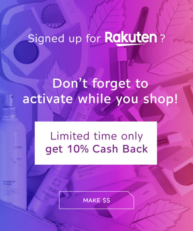 Rakuten US Shop Ofra Cosmetics Get Free Canadian Cash Back NEW Store Alert - Glossense