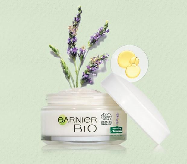 Topbox Canada Beauty Freebies Free Garnier BIO Organic Lavandin Anti-Age Day Cream Canadian Sample - Glossense