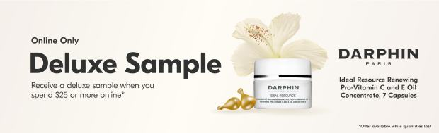 Beauty by Shoppers Drug Mart Canada Free Darphin Ideal Resource Capsules Mini Deluxe Sample - Glossense