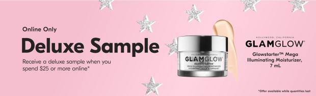 Beauty by Shoppers Drug Mart Canada Free GlamGlow GlowStarter Mega Illuminating Moisturizer Mini Deluxe Sample - Glossense