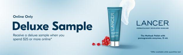 Beauty by Shoppers Drug Mart Canada Free Lancer The Method Polish Pomegranate Enzymes Mini Deluxe Sample - Glossense