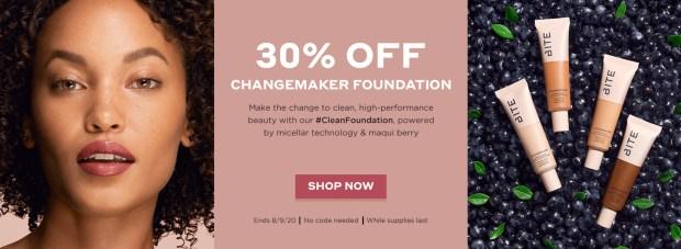 Bite Beauty Sephora Canada 30 Off Changemaker Foundation Canadian Deals Sale - Glossense