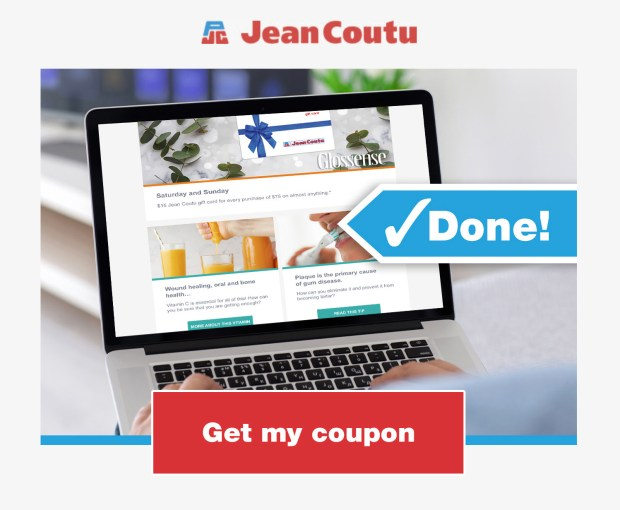 Jean Coutu Canada Save 5 Off Any 20 Purchase Canadian Coupons Newsletter Sign-Up Offers - Glossense