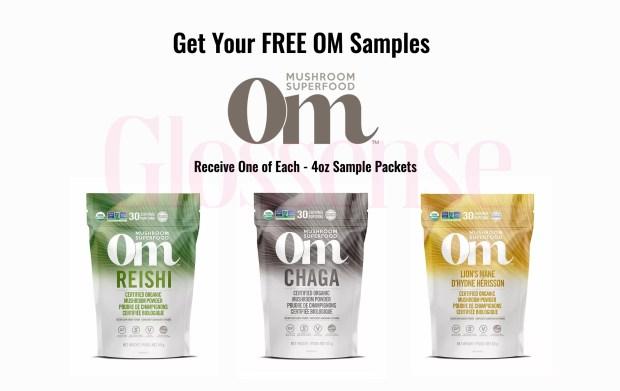 Canadian Freebies Free OM Mushroom Superfood Samples - Glossense