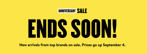 Nordstrom Canada Anniversary Sale Beauty Exclusives Ends Soon Canadian Deals Event Links - Glossense
