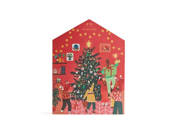The Body Shop Canada Make It Real Together Big 2020 Canadian Holiday Christmas Advent Calendar - Glossense