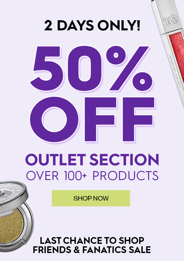 Urban Decay Cosmetics Canada 50 Off ALL Outlet Items HOT Canadian Deals - Glossense