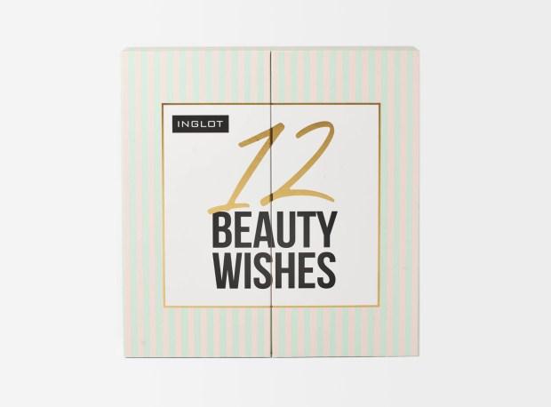 Beauty Bay Canada Inglot Cosmetics 12 Beauty Wishes Advent Calendar 2020 Canadian Holiday Christmas Countdown - Glossense